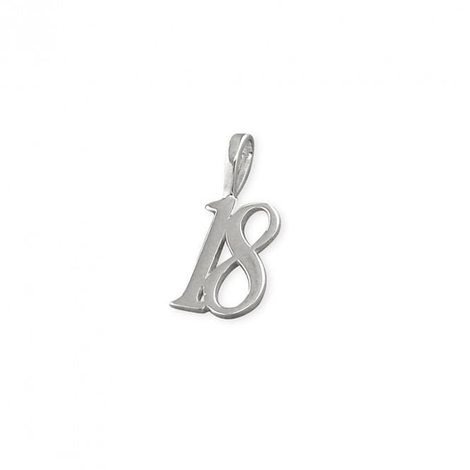 Sterling Silver 18 Birthday Pendant and Chain