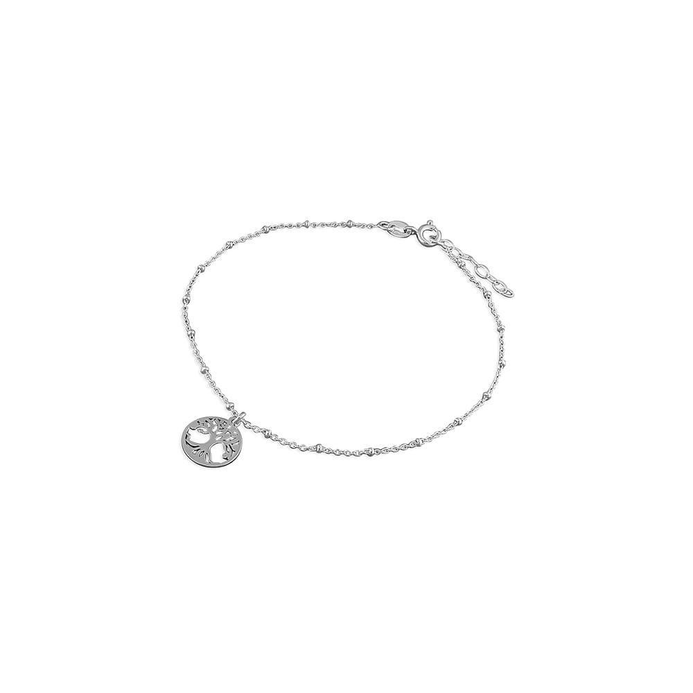 fine sterling silver chain bijoux item from beads anklets jewelry anklet for simple women foot box in